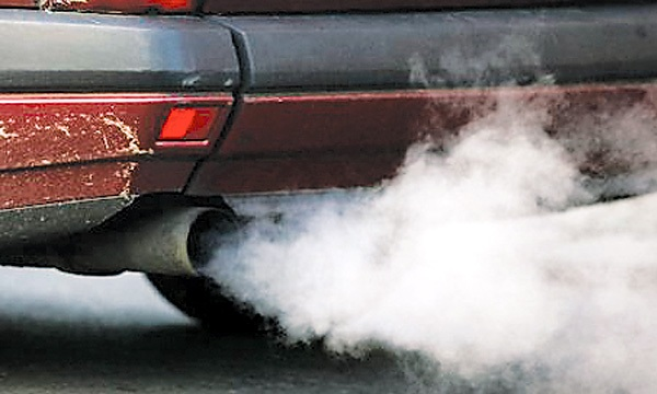 pollution by vehicle