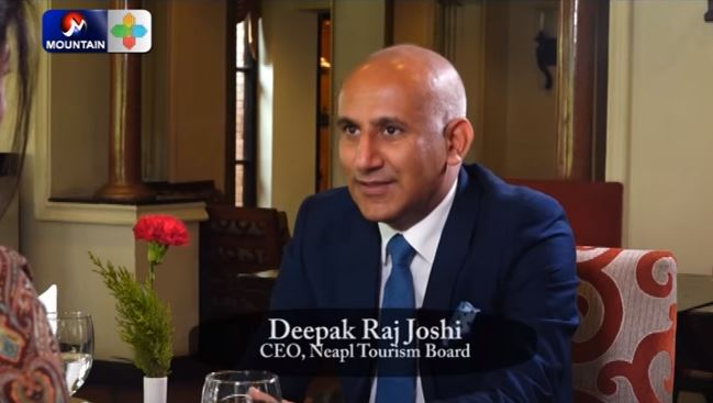 Corporate Dating with Deepak Raj Joshi, CEO, Nepal Tourism Board