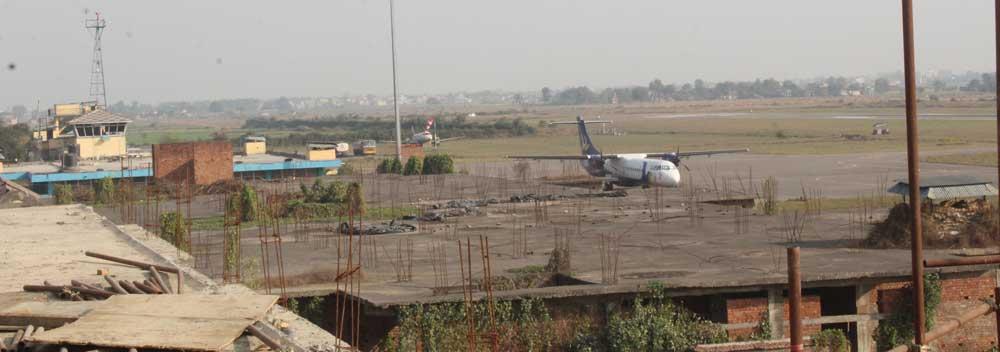 गौतम बुद्ध अन्तर्राष्ट्रिय विमानस्थलः असारमा परीक्षण उडान