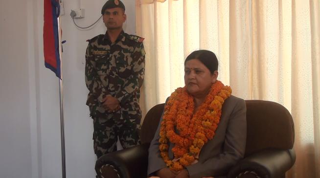 सुदूरपश्चिम प्रदेशकी प्रमुख शर्मिला कुमारी पन्त त्रिपाठीद्धारा पदभार ग्रहण