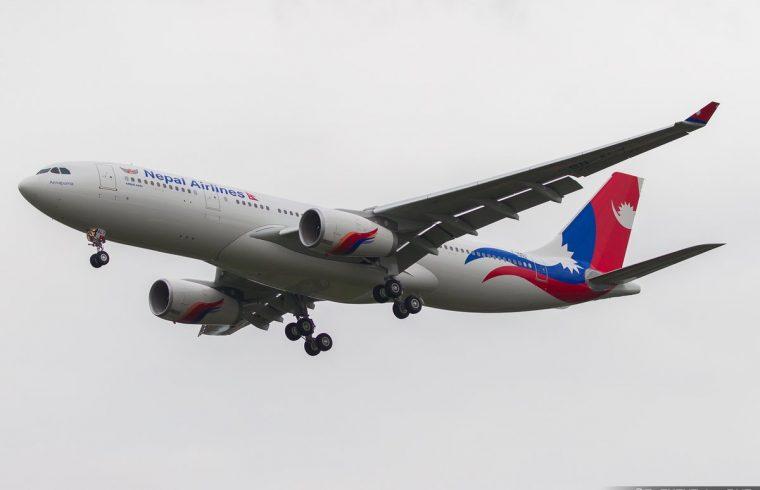 जापानमा आज नेपाल एयरलाइन्सको चौथो उडान