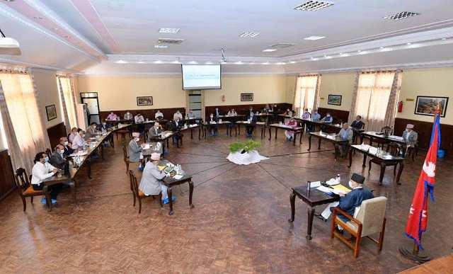 प्रधानमन्त्रीद्वारा काेभिड-१९ काे वस्तुस्थिति सम्बन्धमा विज्ञसँग परामर्श